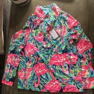 Lilly Pulitzer flamenco beach windsor pullover xs